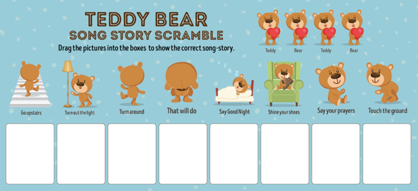 Teddy Bear Scramble