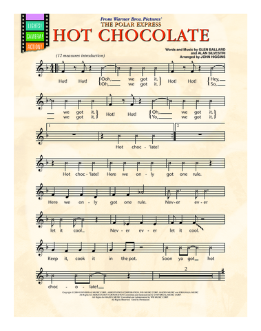 Hot Chocolate (from Polar Express) - Student