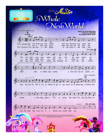 A Whole New World (from Aladdin) - Student