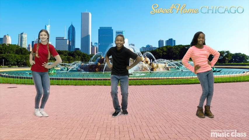 Sweet Home Chicago Movement Video