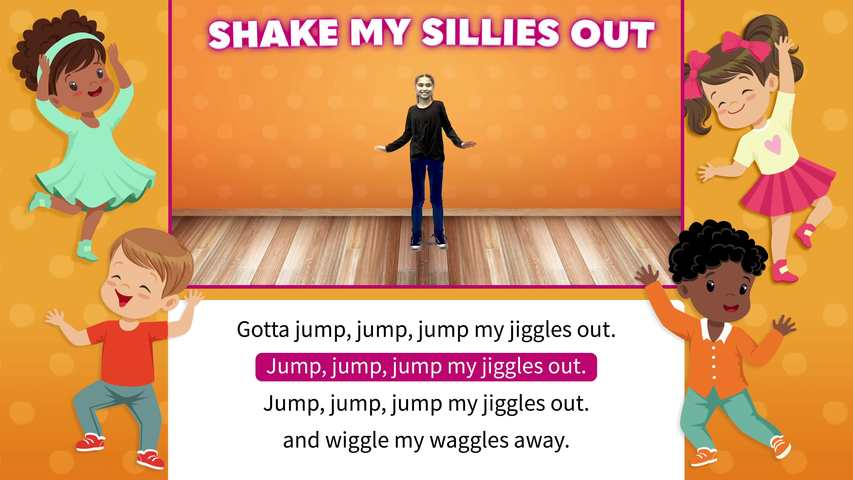 Shake My Sillies Out Movement Video