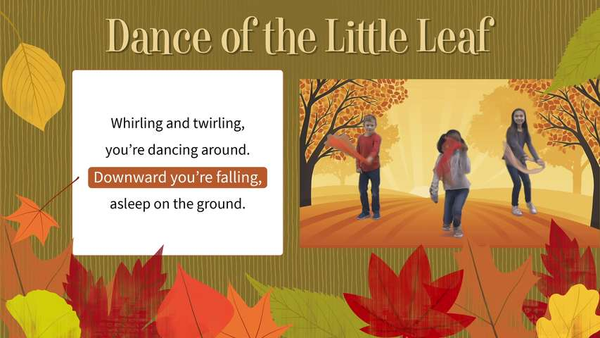 Dance of the Little Leaf - Lyric and Movement Video