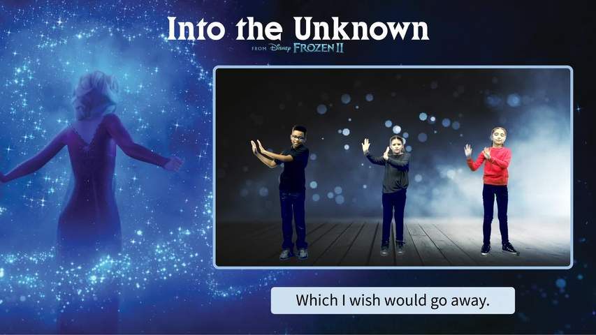 Into the Unknown Lyric & Movement Video - Level 1