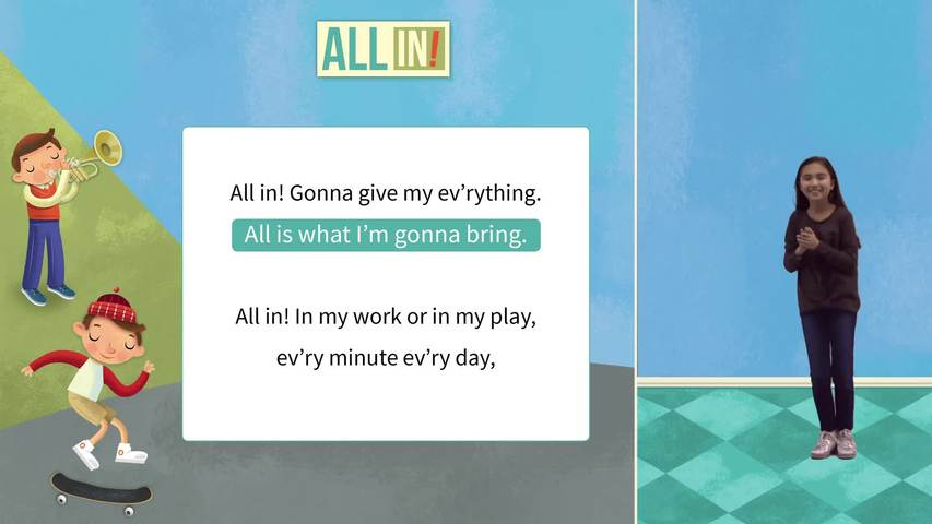 All In Level 2 Lyric and Motion Video