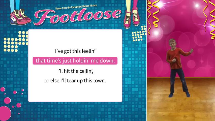 Footloose (Level 2) -  Lyric and Movement Video