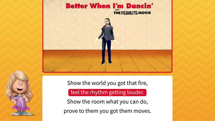 Better When I'm Dancing Movement & Lyric Video