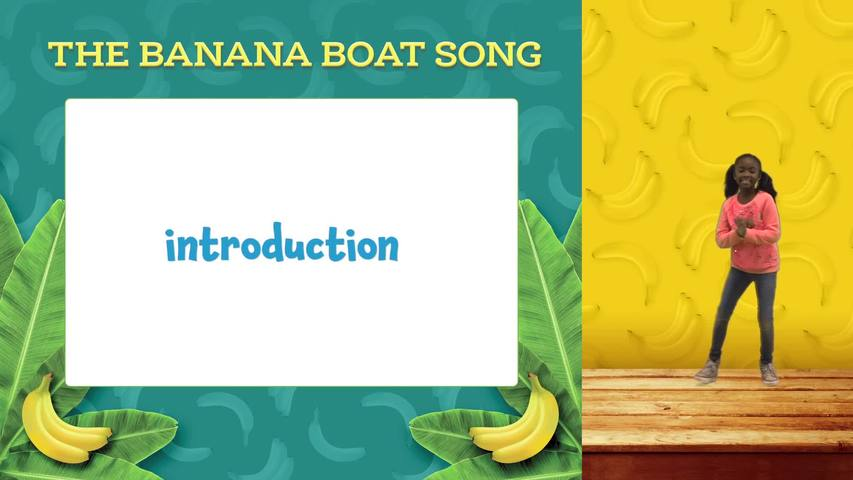 Banana Boat Song Lyric and Motion Video